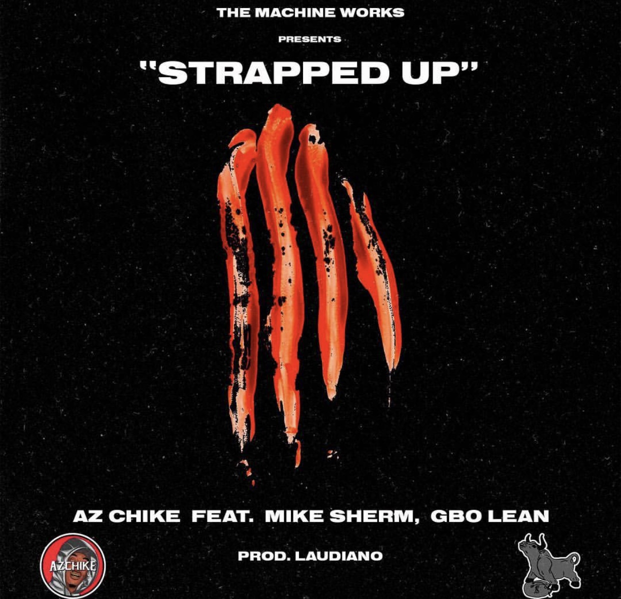 "AzChike drops visual for single ""Strapped Up"" featuring Mike Sherm & GBO Lean"