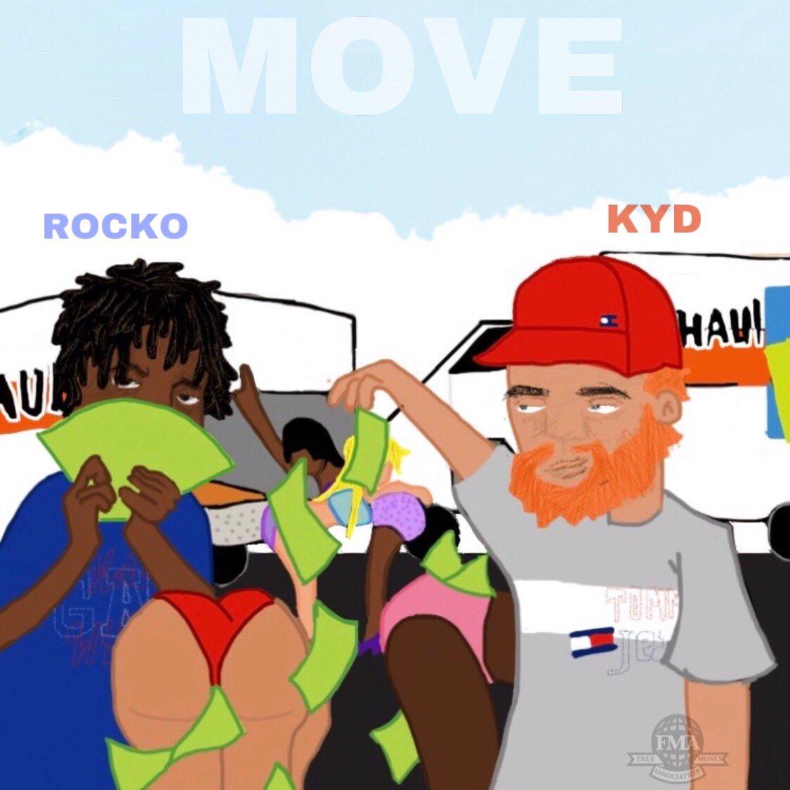 "Kyd + RubberBandRocko – ""Move"" (DJ Moe Exclusive)"