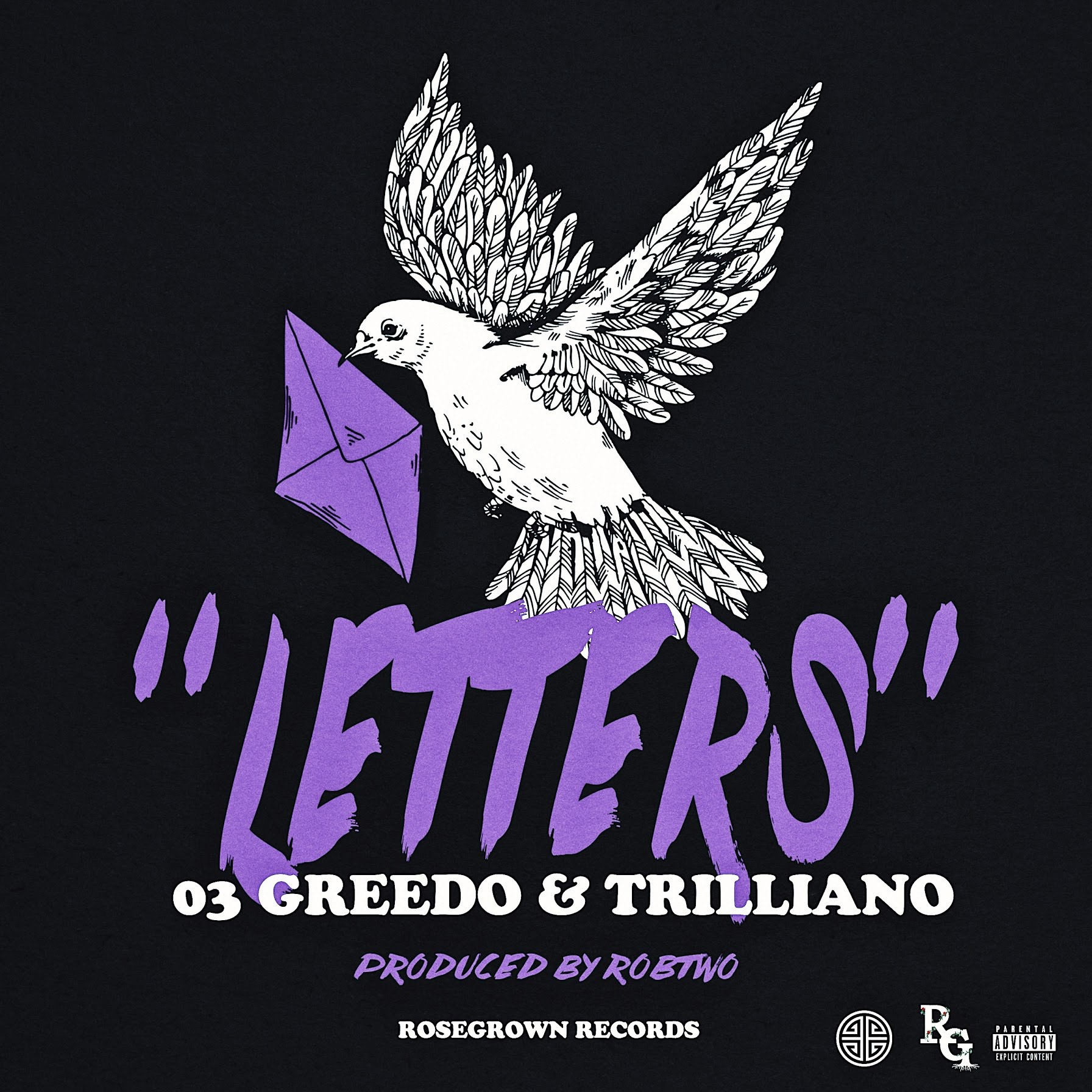 "Recorded Hours Before Greedo's Incarceration, RoseGrown Records Presents ""Letters"" Featuring 03 Greedo & Trilliano Prod By RobTwo"