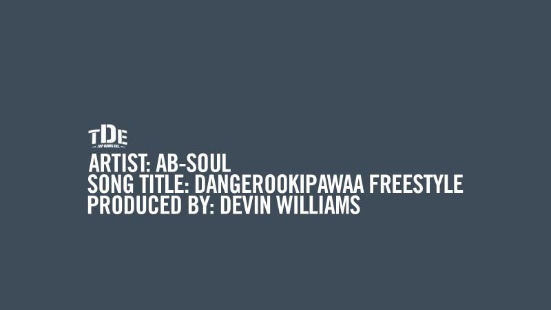 """Ab-Soul Kicks Off TDE Fan Appreciation Week With """"Dangerookipawaa Freestyle"""""""