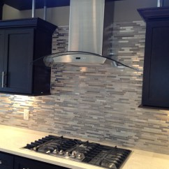 Contemporary Kitchen Backsplash Pot Hanger Design Elements Creating Style Through
