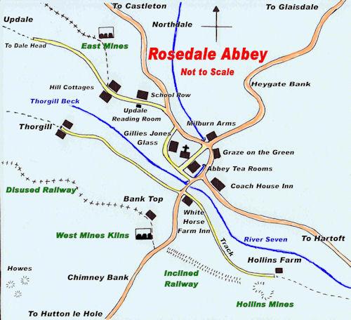 Rosedale Sketch Map