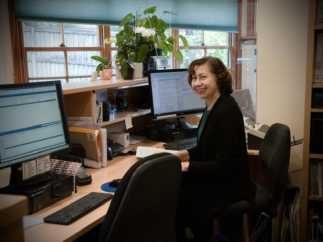 One of our wonderful receptionists