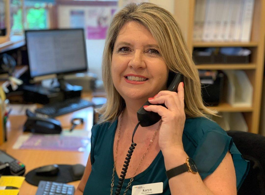 Rosedale Medical Practice Receptionist Karyn