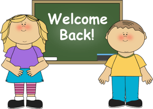 welcome back teaching and learning
