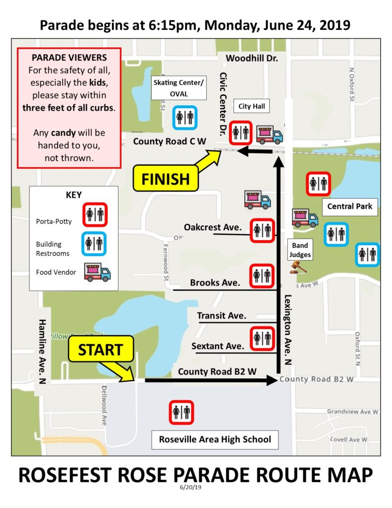 Rose Bowl Parade Route Map 2019 : parade, route, Parade, Route, Maping, Resources