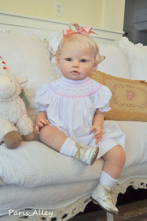 Custom Reborn Toddler Baby Doll Paris Alley Order