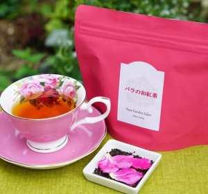 バラの紅茶