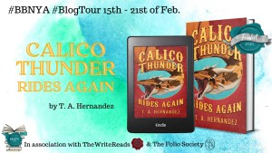 Calico Thunder Rides Again by T. A. Hernandez Spotlight