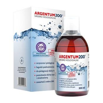 Argentum 200 200ppm kolloidales Silber Tonic 500 ml