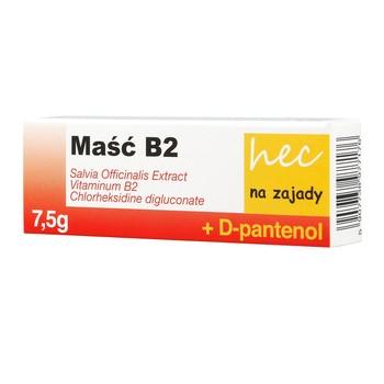 B2 hec Salbe zum Kauen 75 g