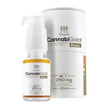 CannabiGold Basic 250 mg Tropfen 12 ml
