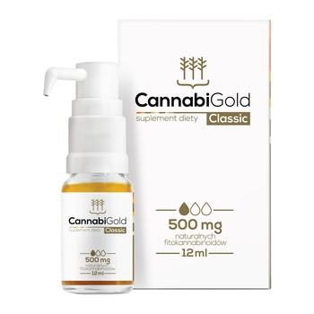CannabiGold Classic 500 mg Tropfen 12 ml