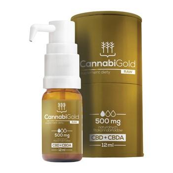 CannabiGold RAW 500 mg Tropfen 12 ml