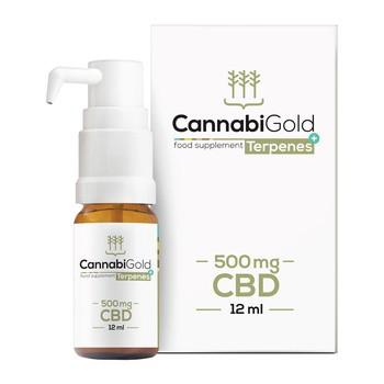 CannabiGold Terpene 500 mg CB Tropfen 12 ml