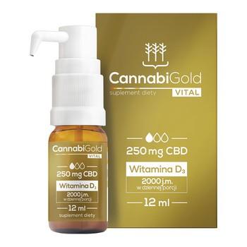 Cannabigold vital Tropfen 12 ml