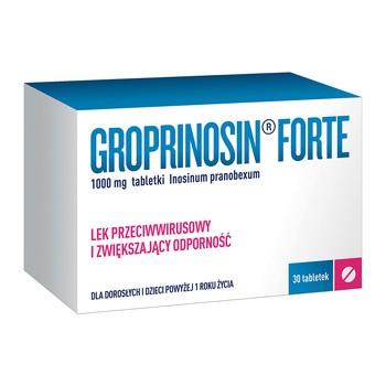Groprinosin Forte 1000 mg Tabletten 30 Stueck