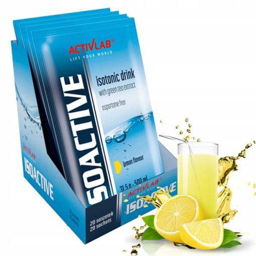 Isoactiv Zitronengeschmack Pulver in Beuteln 20 Stueck