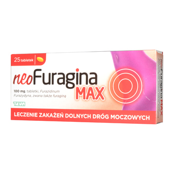NeoFuragina Max 100 mg Tabletten 25 Stueck