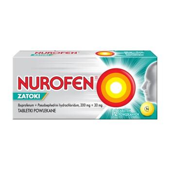 Nurofen Zatoki 200 mg 30 mg Filmtabletten 12 Stk.