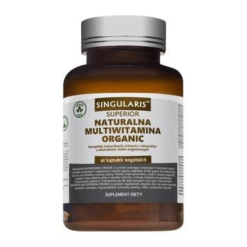 Singularis Natural Organic Multivitamin Kapseln 60 Stk.