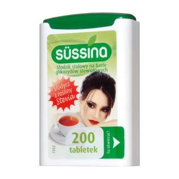 Sussina Stevia Suessstoff Tabletten 200 Stueck 1
