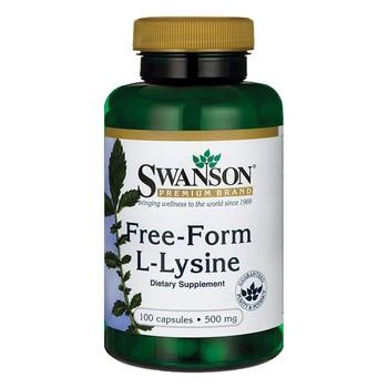 Swanson L Lysin 500 mg Kapseln 100 Stueck