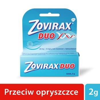Zovirax Duo 50 mg 10 mg Hautcreme 2 g