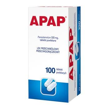 Apap, 500 mg, Dragees, 100 Stück