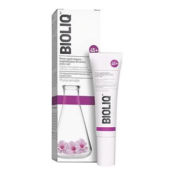 Bioliq 45, straffende und glättende Creme für die Haut von Augen und Lippen, 15 ml