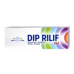 Dip Rilif, (50 mg 30 mgg), Gel, 100 g (Tube)