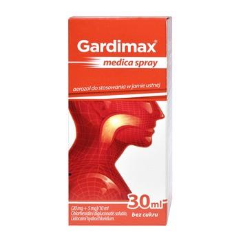 Gardimax Medica Spray, (20 mg + 5 mg) 10 ml, Mundspray, 30 ml