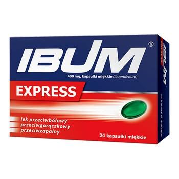 Ibum Express, 400 mg, Weichkapseln, 24 Stk.