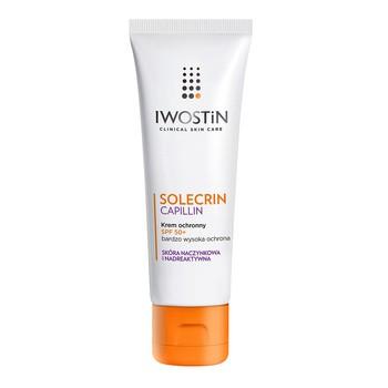 Iwostin Solecrin Capillin, Schutzcreme, LSF 50, 50 ml
