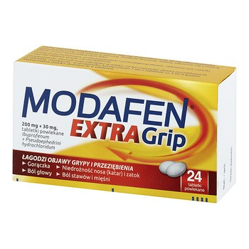 Modafen Extra Grip, 200 mg 30 mg, Dragees, 24 Stk.
