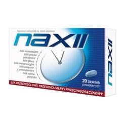 Naxii, 220 mg, Filmtabletten, 20 Stück