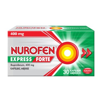Nurofen Express Forte, 400 mg, Weichkapseln, 30 Stück