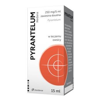 Pyrantelum, (250 mg / 5 ml), Suspension zum Einnehmen, 15 ml
