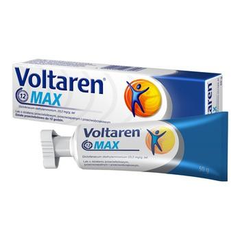 Voltaren Max, 23,2 mg g, Gel, 50 g