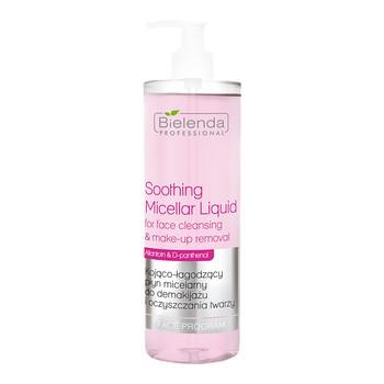 Bielenda Professional, beruhigendes und beruhigendes Mizellenwasser zum Abschminken und zur Gesichtsreinigung, 500 ml