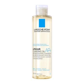 La Roche Posay Lipikar Cleansing Oil AP, rückfettendes Reinigungsöl, gegen Hautirritationen, 200 ml