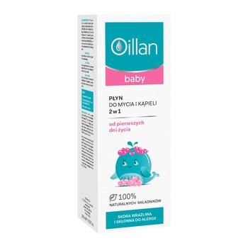 Oillan Baby, 2in1 Wasch- und Badeflüssigkeit, 200 ml