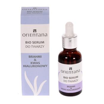 Orientana Bio, Gesichtsserum, Brahmi & Hyaluronsäure, 30 ml