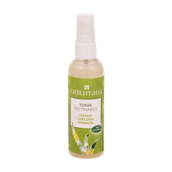 Orientana, Gesichtswasser, Jasmin und grüner Tee, 100 ml