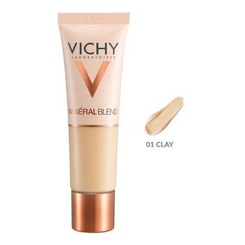 Vichy Mineralblend, Feuchtigkeitsspendende Foundation, 01 Ton, 30 ml
