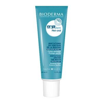 Bioderma ABCDerm Periorale, schützende und beruhigende Creme für die Haut um den Mund, für Kinder und Babys, 40 ml