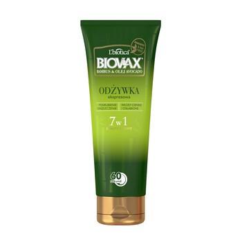 Biovax Bambus Avocado Oil, BB 7in1 Express Conditioner für geschwächtes Haar, 200