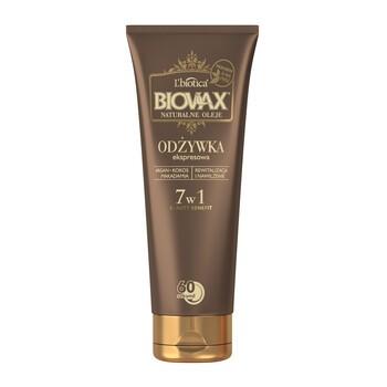 Biovax Natural Oils, BB Express Haarspülung, 7in1, 200 ml