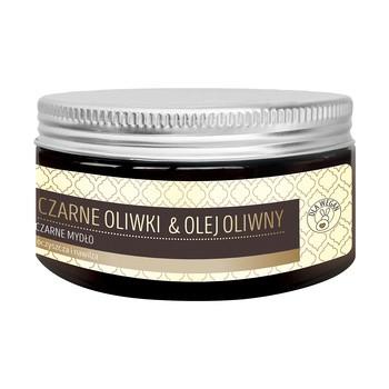 Botame Face Schwarze Oliven Olivenöl, schwarze Seife, 100 g