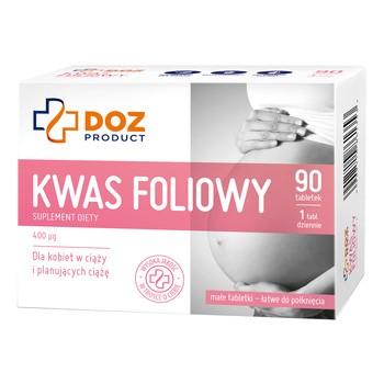 DOZ PRODUCT Folsäure, Tabletten, 90 Stk.